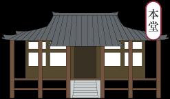 本堂/安住院/岡山観光