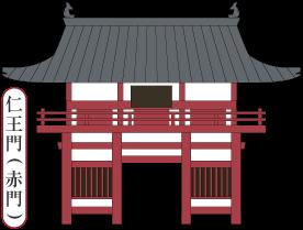 仁王門/安住院/岡山観光